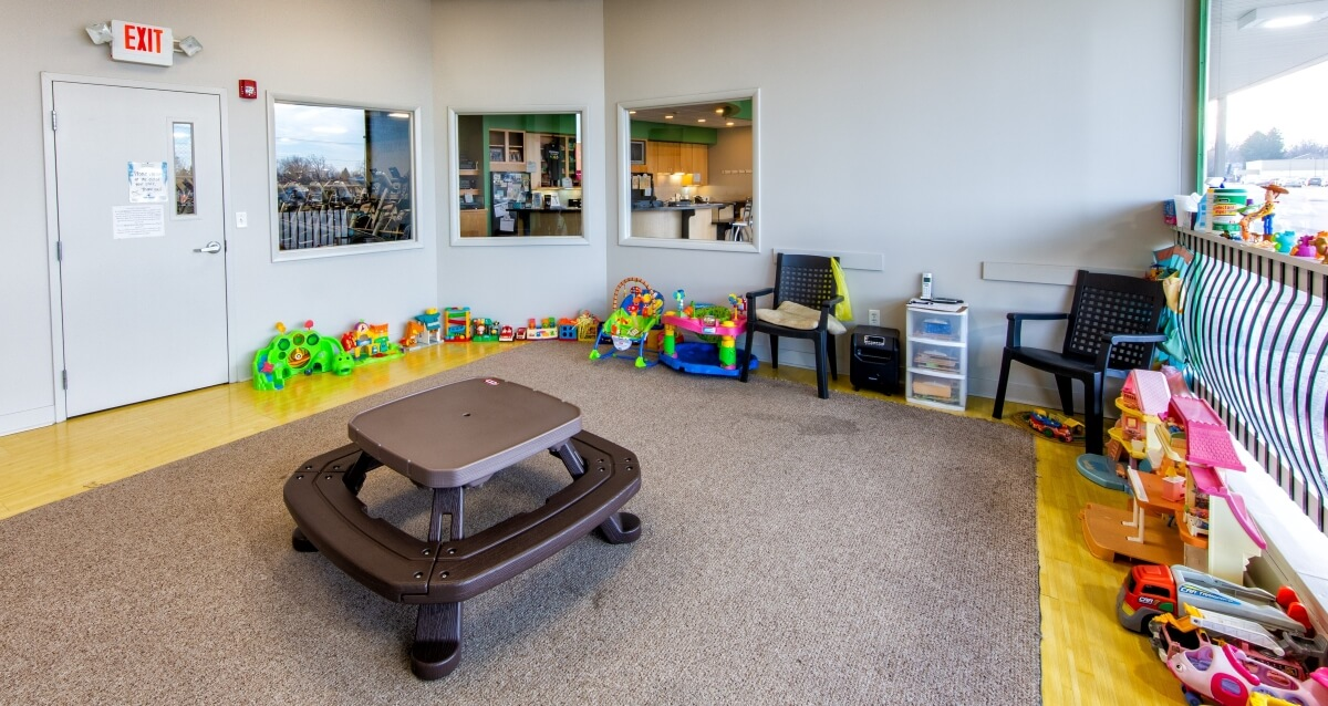 Childcare Room at Gym